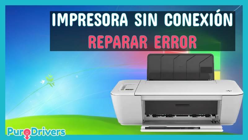 HP deskjet: Reparar error Impresora Sin Conexión en PC Windows