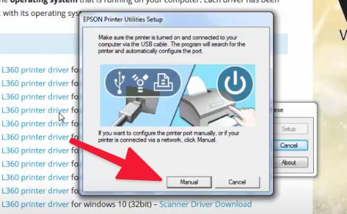 como actualizar drivers Epson L360