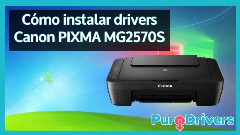 descargar drivers Canon PIXMA MG2570S
