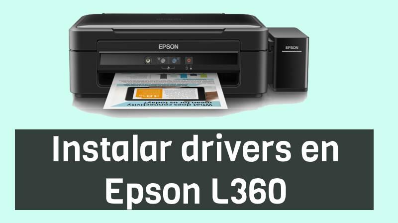 drivers epson l360 descargar