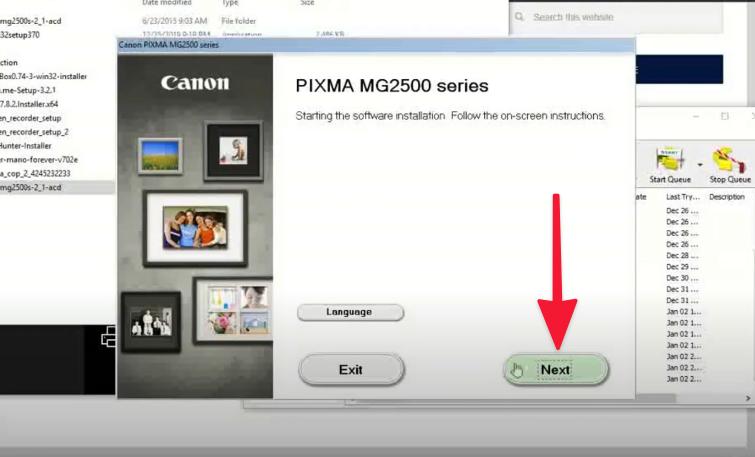 instalar Drivers Canon Pixma mg2570s