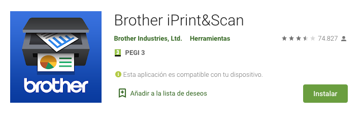 Brother iPrint Scan apk