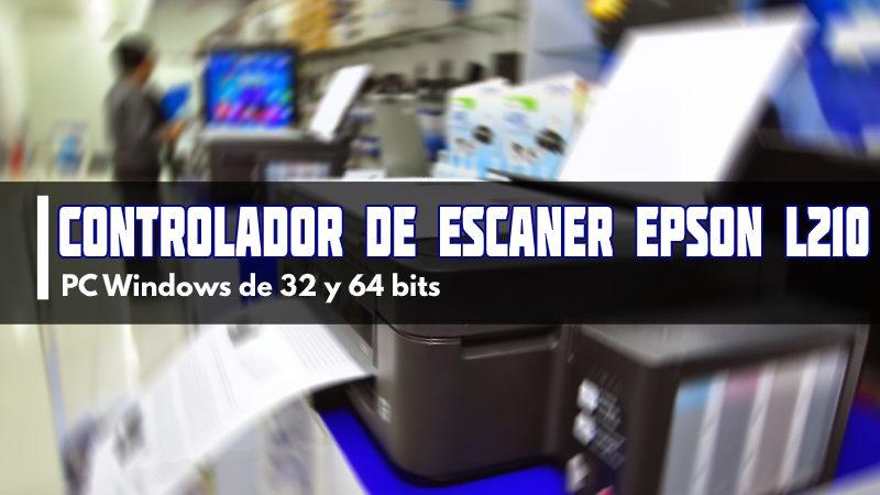 descargar Controlador de escaner Epson L210