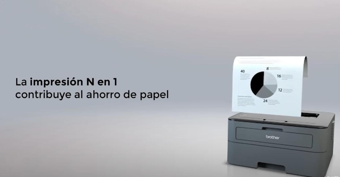 oferta HL-L2300D Impresora láser