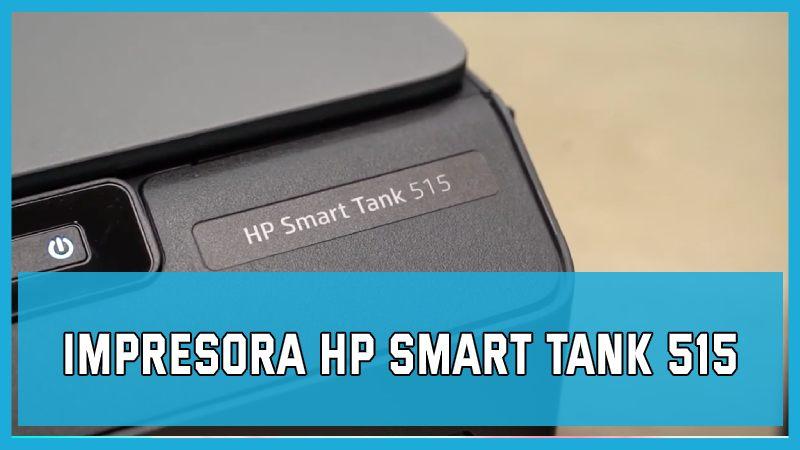 Impresora HP Smart Tank 515 precio