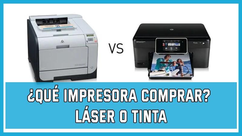 Qué Impresora Comprar láser o tinta